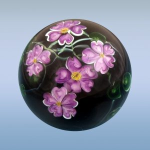 Purple Flower Marble Large